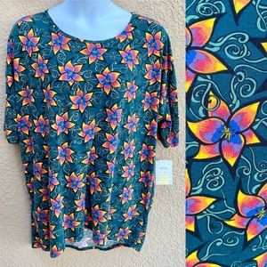 NEW! LuLaRoe Irma High-Low Tunic Shirt 3XL